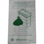 OXO-BIODEGRADABLE BIN LINER WITH SANI-BIN BIO-ORGANIC GEL
