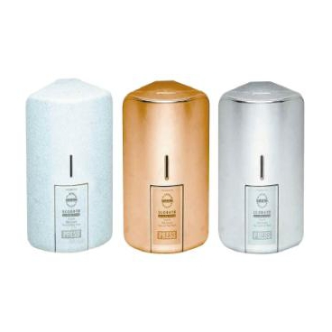 CORNER SOAP DISPENSER, 600ml refillable cartridge