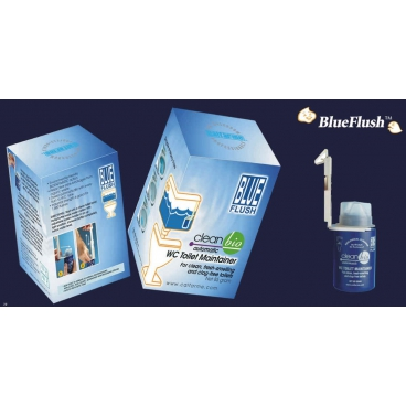 CLEANBIO BLUEFLUSH AUTOMATIC WC TOILET MAINTAINER